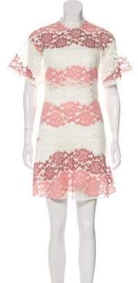 Burberry Lace Gradient Dress
