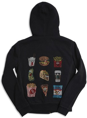 Butter Girls' Reversible Foodie Hoodie - Sizes S-XL $98 thestylecure.com