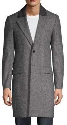 Maison Margiela Wool Twill Chesterfield Coat