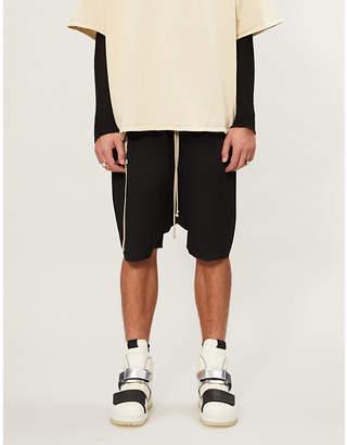 Rick Owens Rick's Pods cotton-stretch shorts