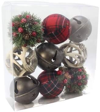 Sonoma Goods For Life SONOMA Goods for Life Plaid Woodland Sphere Vase Filler 9-piece Set