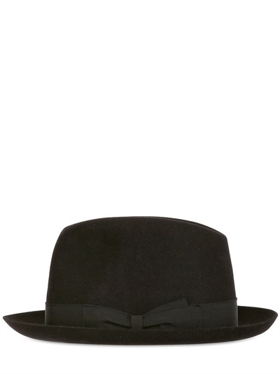 Borsalino Medium Brim Felted Hat