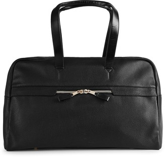 Reiss Bournemouth Textured Leather Holdall