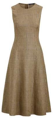 Ralph Lauren Glen Plaid Tweed Dress