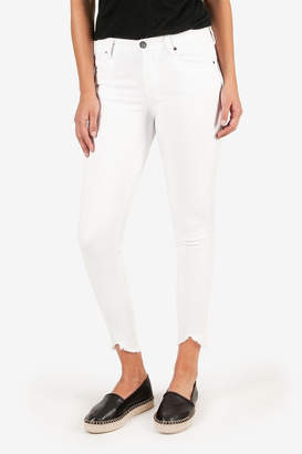 KUT from the Kloth Connie H/R White Skinny