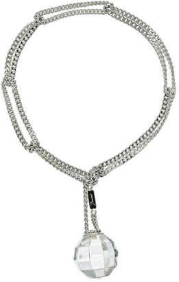 Baccarat Facettes Silver Crystal Bracelet