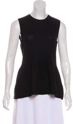 Burberry Wool Pleated Knit Top