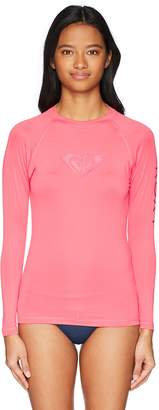 Roxy Junior's Whole Hearted Long Sleeve Rash Guard