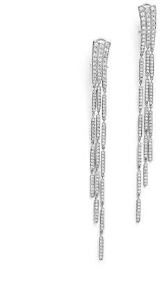 Bloomingdale's Diamond Statement Long Drop Earrings in 14K White Gold, 3.0 ct. t.w. - 100% Exclusive