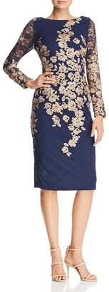 Avery G Embroidered Lace Dress