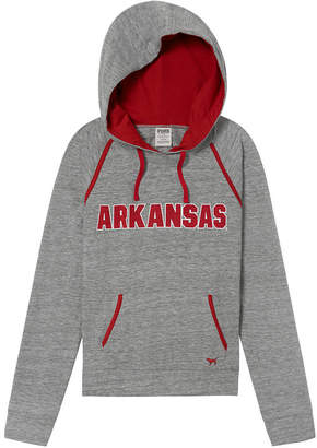 PINK University Of Arkansas Bling Crossover Perfect Pullover
