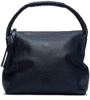 Tory Burch Tasseled Textured-leather Shoulder Bag