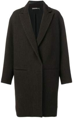 32 Paradis Sprung Frères single-breasted overcoat