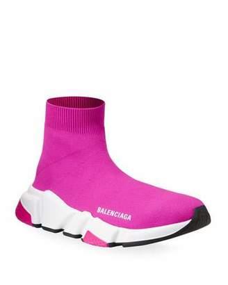 Balenciaga Speed Knit Chunky Sneakers