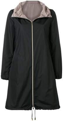 Herno classic midi raincoat