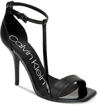 Calvin Klein Women's Mackenzie Dress Sandals Women's Shoes