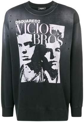 DSQUARED2 Vicious Bros jumper
