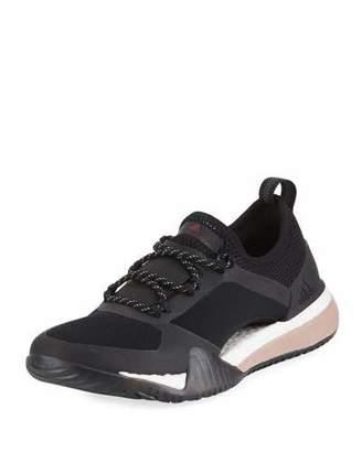 adidas by Stella McCartney PureBoost X Mesh Sneakers, Black