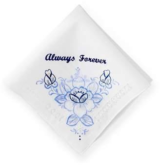 Mark And Graham Hand Embroidered Heirloom Handkerchief