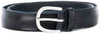 Orciani narrow leather belt