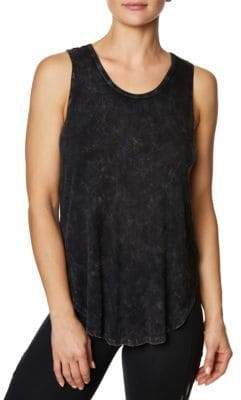 Betsey Johnson Back Criss-Cross Tank Top