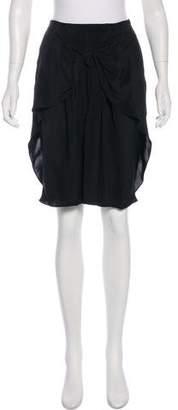 3.1 Phillip Lim Silk Tie-Accented Skirt