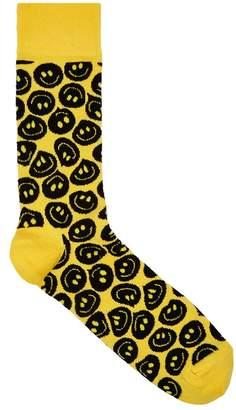 Happy Socks Twisted Smile Cotton-blend Socks