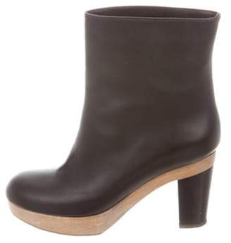 Marni Leather Ankle Boots Leather Ankle Boots
