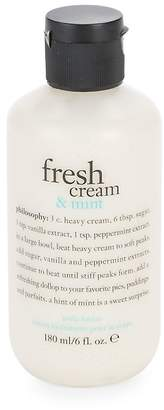 philosophy Fresh Mint and Cream Body Lotion/6 oz.