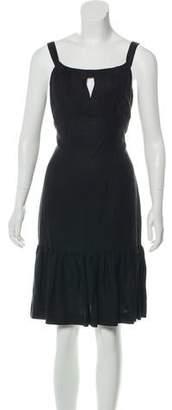 MICHAEL Michael Kors Pleated Knee-Length Dress