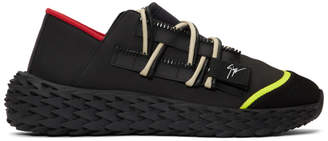 Giuseppe Zanotti Black Urchin Sneakers