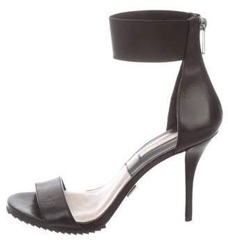 Michael Kors Leather Cuff Sandals