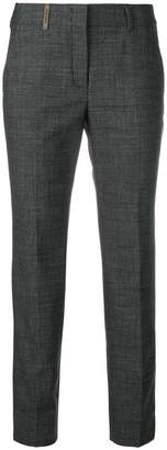 Peserico basic cropped trousers