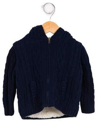 EGG Infant Girls' Hooded Knit Jacket