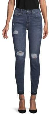 Kenneth Cole New York Jess Distressed Skinny Jeans