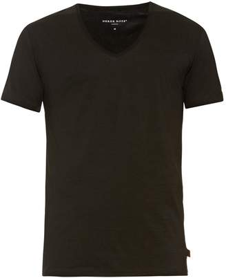 Derek Rose Jack pima-cotton V-neck T-shirt