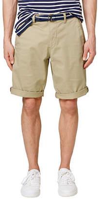 Esprit Rolled-Cuff Chino Shorts