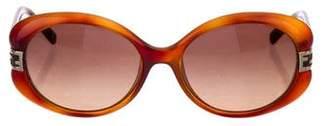 Fendi Zucchino Round Sunglasses