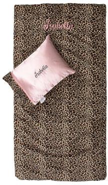 Swankie Blankie Cheetah-Printed Nap Mat & Pillow