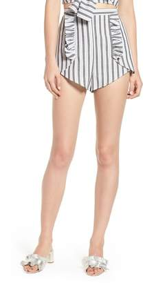 The Fifth Label Acacia Stripe High Waist Shorts