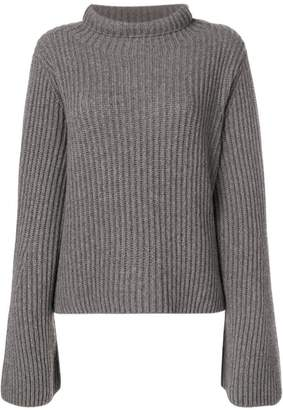 Stella McCartney slouchy ribbed knit sweater