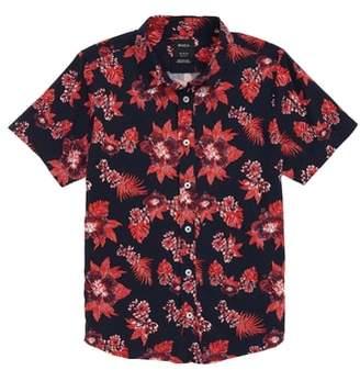 RVCA Floral Woven Shirt