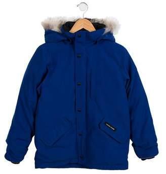 Canada Goose Boys' Logan Fur-Trimmed Coat