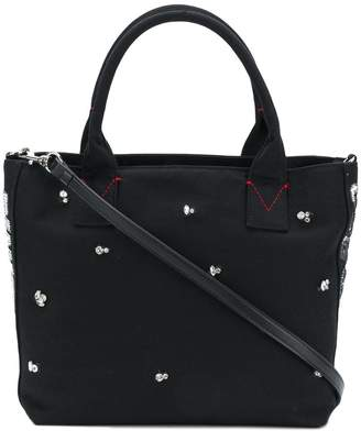 Pinko crystal embellished tote bag