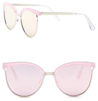Quay Star Dust 56mm Cat Eye Sunglasses