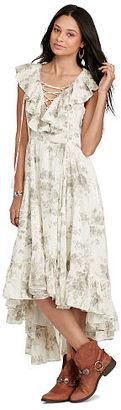 Ralph Lauren Denim & Supply Floral Lace-Up Maxidress $165 thestylecure.com