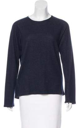 Armani Exchange Long Sleeve Crew Neck Top