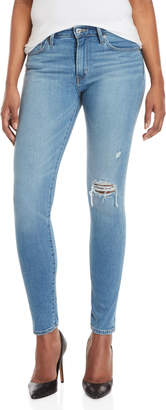 Levi's Light Wash 721 High-Rise Skinny Jeans