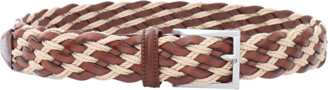 Luciano Barbera Leather Rope Belt