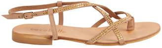 Cocobelle Vera Studded Leather Sandal